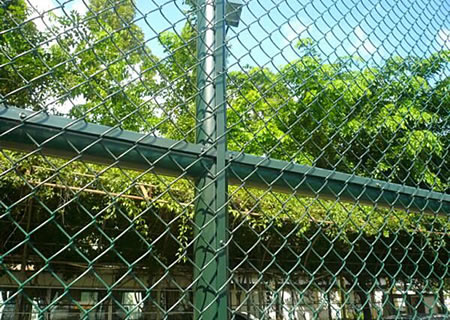 Chain Linked Wire Tennis Court Sports Fence