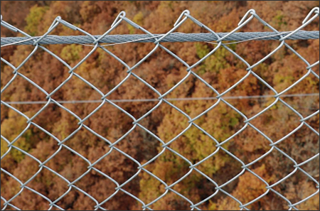 Chain Link Fence Diamond Mesh